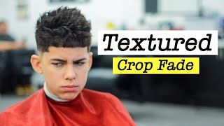 How to do a Crop Top fade step by step