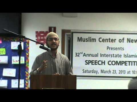Saim Siddiqui Speech 2013