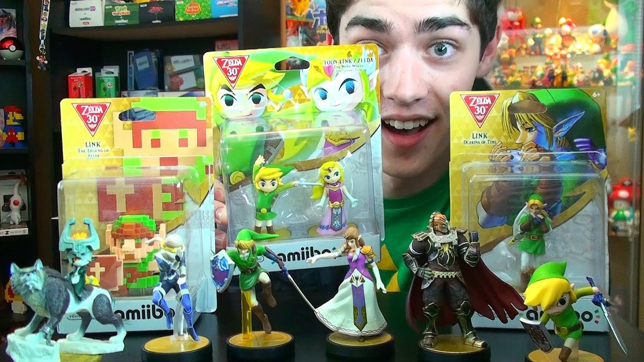 Unboxing All 4 New Legend Of Zelda Series Amiibo Youtube