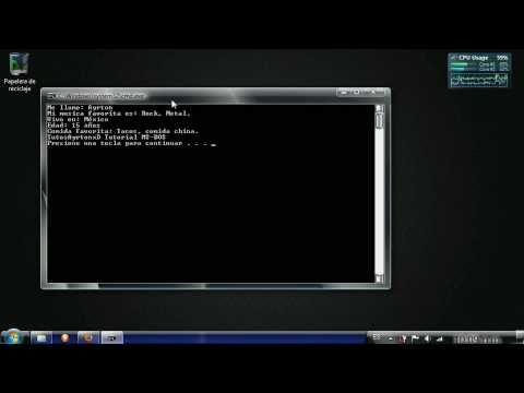 Crear un Archivo Básico en MS-DOS