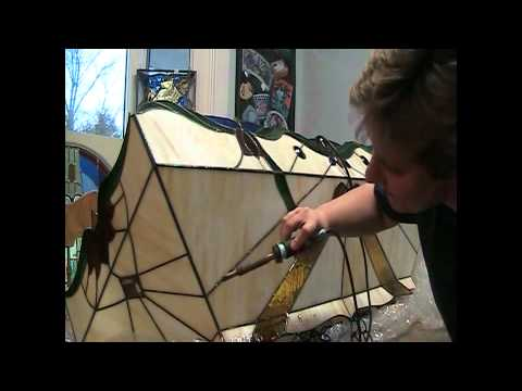Stained glass lamp repair custom stained glass youtube stained glass lamp repair custom stained glass mozeypictures Image collections