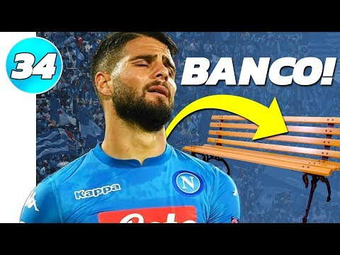 🚨 BOTEI TODOS OS CRAQUES NO BANCO! 🚨 | FIFA 19 - Modo Carreira Napoli #34