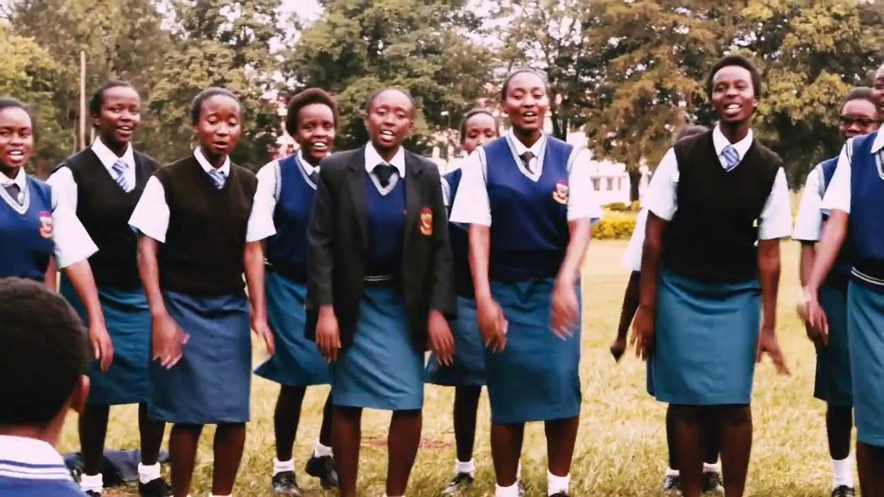 Moi Girls Choir at The Kenya Music Festival 2017 Kakamega