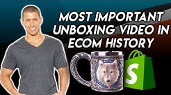 Most Important Product Unboxing In Shopify History [Wolf Mug]
