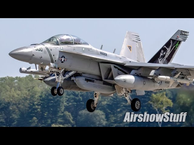 Close to the Runway!  Military Jet Takeoffs - Part 1 - Northern Lightning 2021