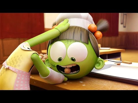 Funny Animated Cartoon | Spookiz | Zizi Spits Out Cookies For Cula | 스푸키즈 | Cartoon for Children