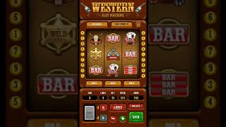 Western Slot Machine [Touchscreen Java Games]