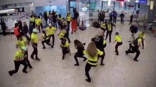 Flash mob à Genève Aéroport !