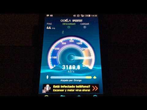 DEMO Test de Velocidad 2G/3G/4G
