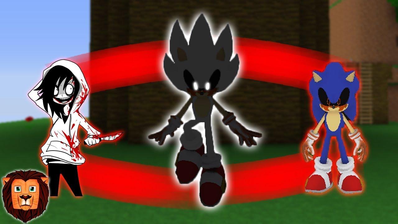Jeff The Killerexe Roblox - La Fusion De Sonicexe Y Jeff The Killer En Minecraft Fusiones En Minecraft Leon Picaron