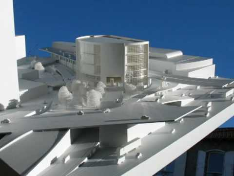 Maquette d 39 architecture youtube for Maquette d architecture