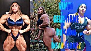 Bu Kadın Insan Olamaz ( Dünyanın En Kaslı Kadını ) Vücut Geliştirme/ Fitness Motivation