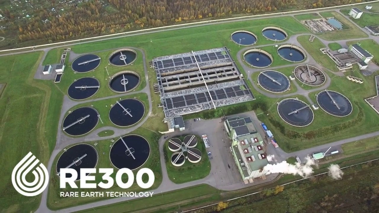 RE300 Removes Phosphorus from Wastewater