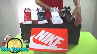 sale retailer db8bc 8641b Nike Air Force 2 Supreme On Feet