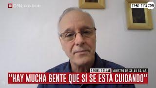 Entrevista a Daniel Gollán, ministro de Salud bonaerense