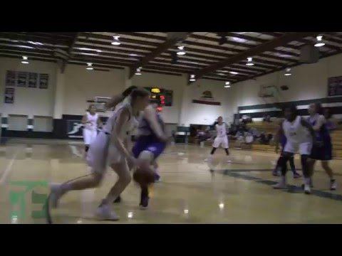Lady Huskies Varsity Girls Basketball Highlights - Feb 2, 2016 (Fairmont Preparatory Academy)