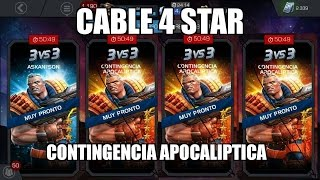 CABLE 4 STAR ARENA  Marvel: Contest of Champions ronda 31