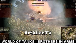 World of Tanks: E75 & Tortoise Brothers in Arms Medal. Soundisciples 2014 ArtAlienTV 1080p