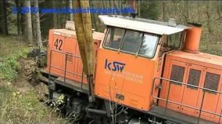 Zugunglück - Bergung einer Lok mit Eisenbahndrehkran - Teil 2