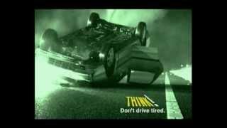 THINK! - Don't drive tired thumbnail