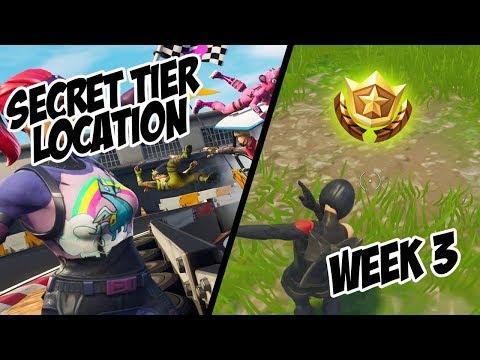 Season 5, Week 3 | *SECRET* Free Tier Location! - Fortnite Battle Royale