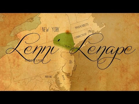 Lenape - Original People