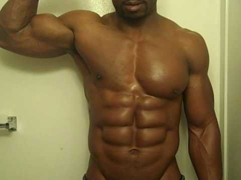 King of Abs Hitch Flexing