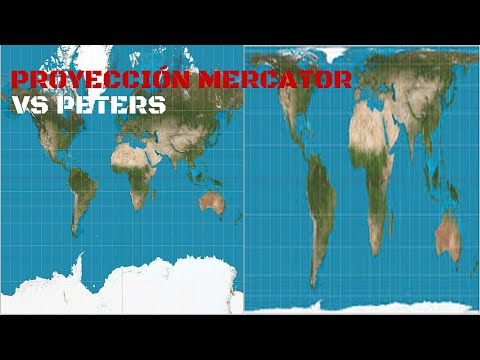 MAPA MERCATOR vs MAPA PETERS, GEOGRAFÍA REAL.