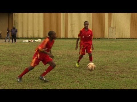 Football schools aim to rebuild Cameroon prowess