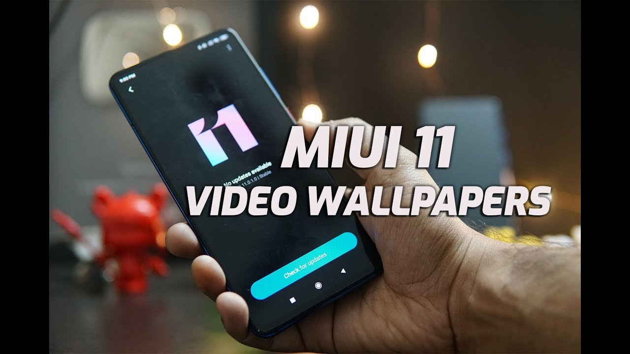 Video Wallpapers On Miui 11 How To Set It
