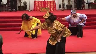 Shrine 2018 God Is Good Praise Dance