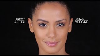 How To Fill In Over Tweezed Brows with Anastasia Beverly Hills | Sephora