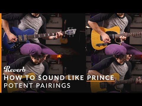 How To Sound Like Prince Using Guitar Pedals | Reverb Potent Pairings