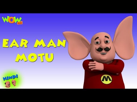 Ear Man Motu - Motu Patlu in Hindi - 3D Animation Cartoon for Kids -As seen on Nickelodeon thumbnail