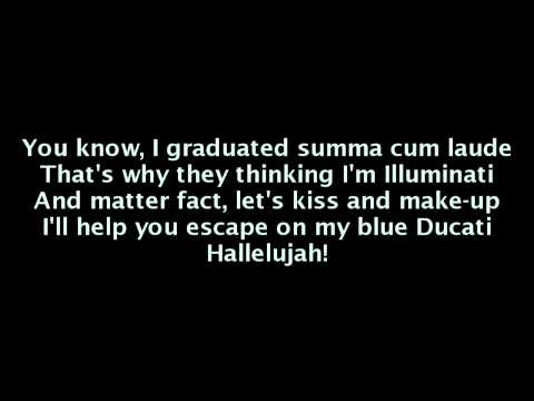 B.o.B feat. Nicki Minaj - Out Of My Mind (Lyrics On Screen)