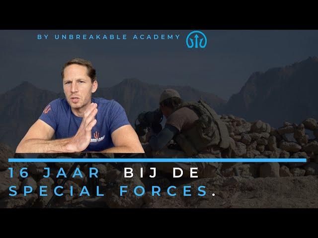 16 jaar bij de Special Forces