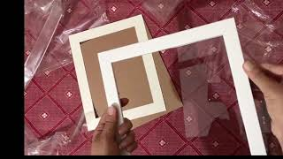 art street//Amazon photo frames unboxing and review// screenshot 3