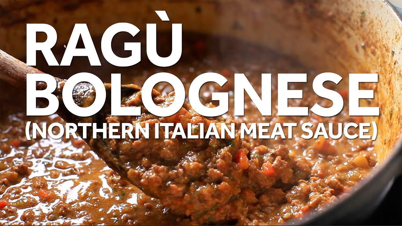 Download How to Make Ragù Bolognese (Northern Italia Meat Sauce)