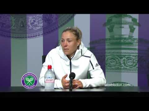 Angelique Kerber final press conference