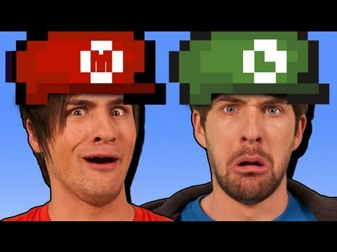 WE'RE IN SUPER MARIO!