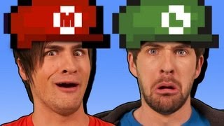 WE'RE IN SUPER MARIO! thumbnail