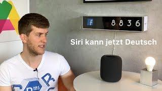 HomePod: Siri kann jetzt Deutsch