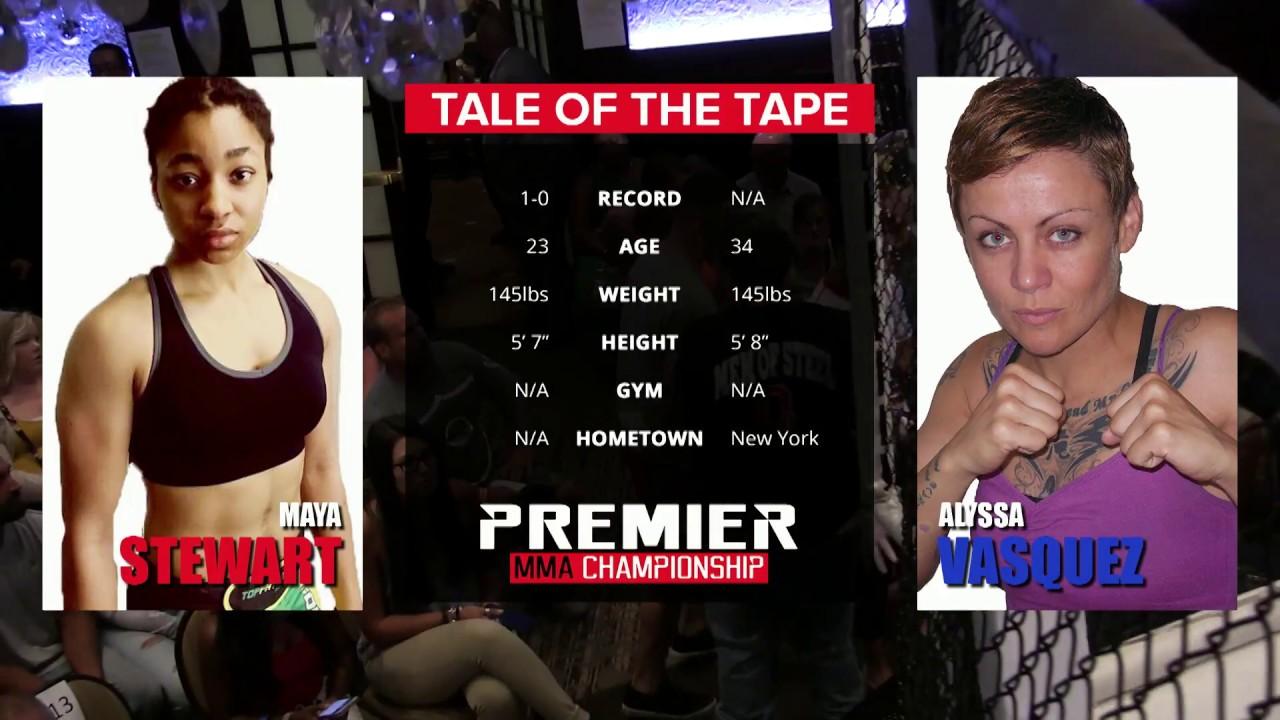 Premier MMA Championship 4 Maya Stewart vs. Alyssa Vasquez