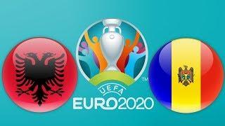 Albania vs Moldova | Euro 2020 Qualification | PES 2018