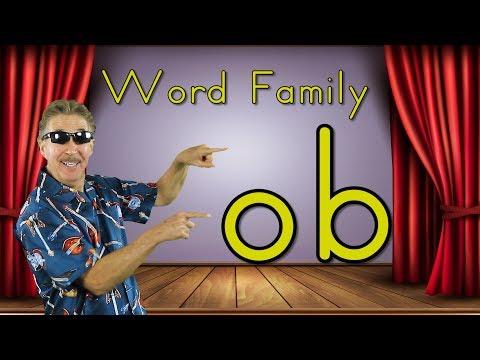 Word Family -ob | Phonics Song for Kids | Jack Hartmann