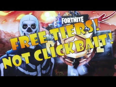FREE TIERS EASTER EGG! | FORTNITE SEASON 4 BATTLE PASS! | NOT CLICKBAIT