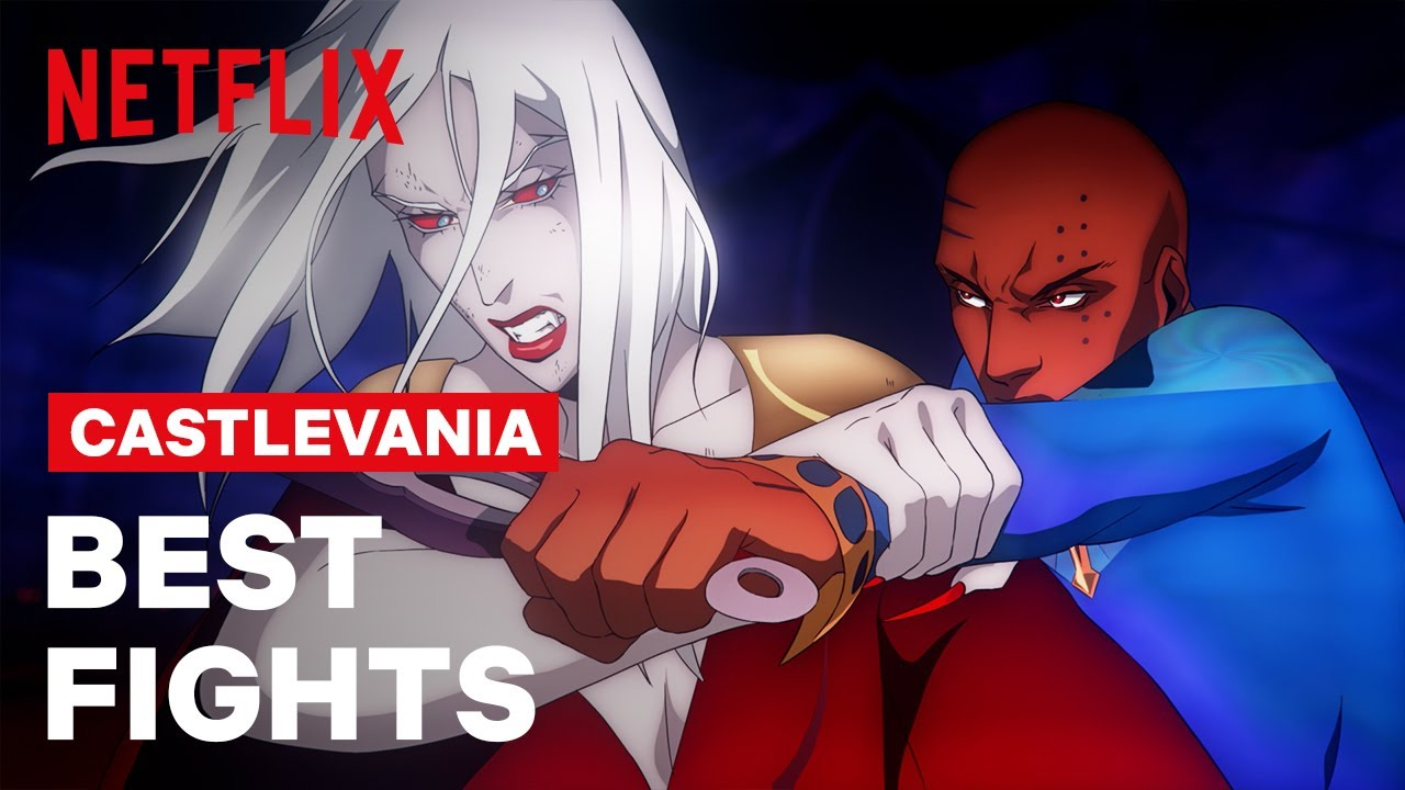 The 10 Best Fights of Castlevania | Netflix