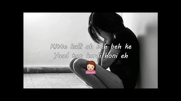 Kite Kalli Song || Maninder Buttar-- Top Class Whatsapp Status