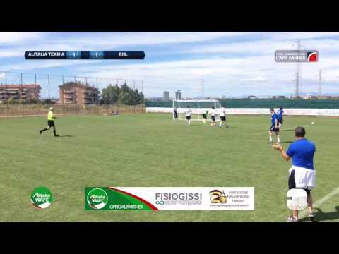 Alitalia Team A 2-2 (4-5 d.c.r.) BNL | Alitalia WAFC- Semifinale | Highlights