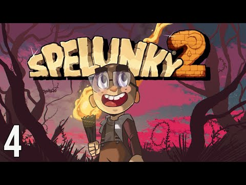 Has Olmec Been Working Out? | Spelunky 2 (Episode 4)